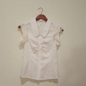 Very cute white blouse